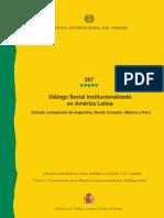 Dialogo social institucionalizado en América LatDialogo social institucionalizado en América Latinaina