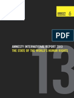 Amnesty International Annual Report 2013