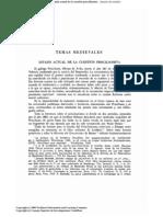 Estado actual de la cuestión priscilianista (P. Sainz Rodríguez)