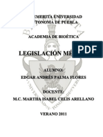 Legislación Médica