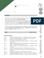 Passerelle Synthese de Dossier 1999 Passerelle 2