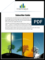 InterAnalyst Subscriber Guide