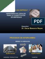 A Constitucion de Empresas