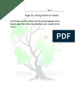 WebQuest Journal Page