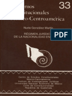 Regimen jurídico de la nacionalidad en México