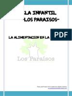 CHARLA ALIMENTACIÓN. COMISIÓN FAMILIAS 2013-14.