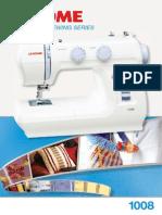 65Janome 1008 Brochure