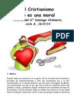 6OrdA.El Cristianismo no es una moral
