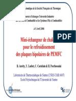 Journée Thématique de la Société Française de Thermique