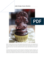 Cupcakes de Chocolate Amargo