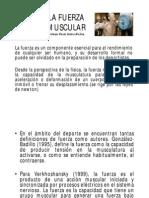 DESARROLLO DE LA FUERZA, POTENCIA Y PLIOMETRÍA
