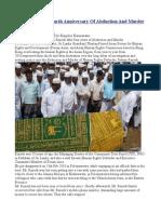 Pattani Razeek  Fourth AnniversaryOf Abduction And Murder