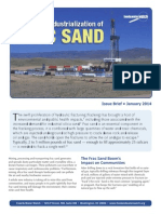 The Rapid Industrialization of Frac Sand