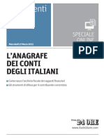 L'anagrafe Dei Conti Degli Italiani
