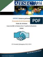 AIESEC Fiches d'économie de la Concurrence