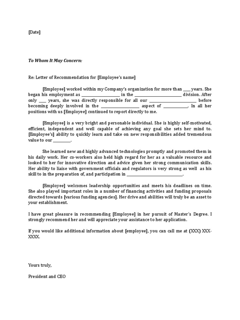 letter to government officials