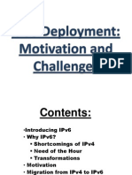 IPv6 Seminar ppt