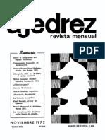 Ajedrez 223-Nov 1972 Ocr