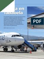 Un día en Tababela - Artículo de Avion Revue