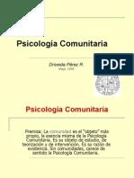 Resena Psicologia Comunitaria