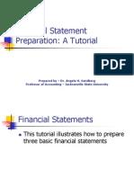 Financial Statement Preparation 2