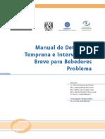 Manual de Detección Temprana e Intervención Breve para Bebedores Problema