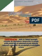 desertificarea