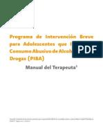 Manual de Intervencion Breve Para Adolescentes PIBA
