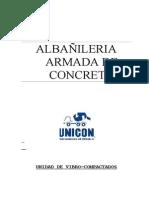 ALBAÑILERIA ARMADA UNICON