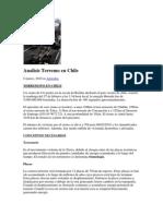 Analisis Terremoto de Chile