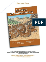 The Biology of Rattlesnakes