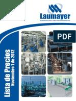 Lista de Precios Laumayer