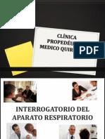 Interrogatorio respiratorio