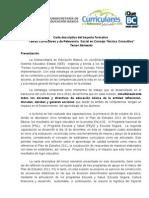 Carta Descriptiva Del 3er. Momento de CTC