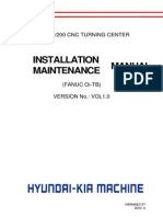 HyundaiWia_SKT100 200 CNC Installation Maintenance