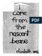 i come from nascent beane by elizabeth was