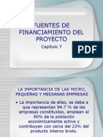 Presentacion 7 Fuentes de Financiamiento