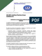 ISO-9001 Clausula 7.6 Rev