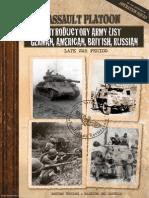Assault Platoon Armylist
