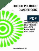 Dossier Gorz - Fondation de l'Ecologie Politique