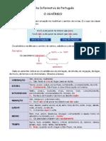Ficha Informativa de Português