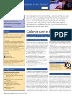 Catheter in Community