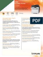 Brochure CX510de