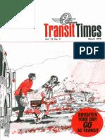 Transit Times Volume 12, Number 9