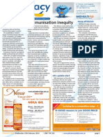 Pharmacy Daily for Wed 12 Feb 2014 - Immunisation inequity, Hamilton finds the Key, Coke is it for Coty,  Health