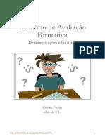 Relatório sobre avaliação formativa