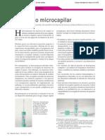 Muestreo microcapilar