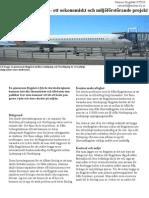 En gemensam flygplats - ett oekonomiskt och miljöförstörande projekt