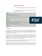 Método ACEPTABLE con JavaScript-tipinfo