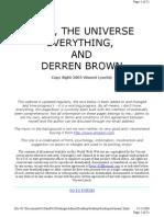 Derren Brown - Secret eBook (Old and Rare)